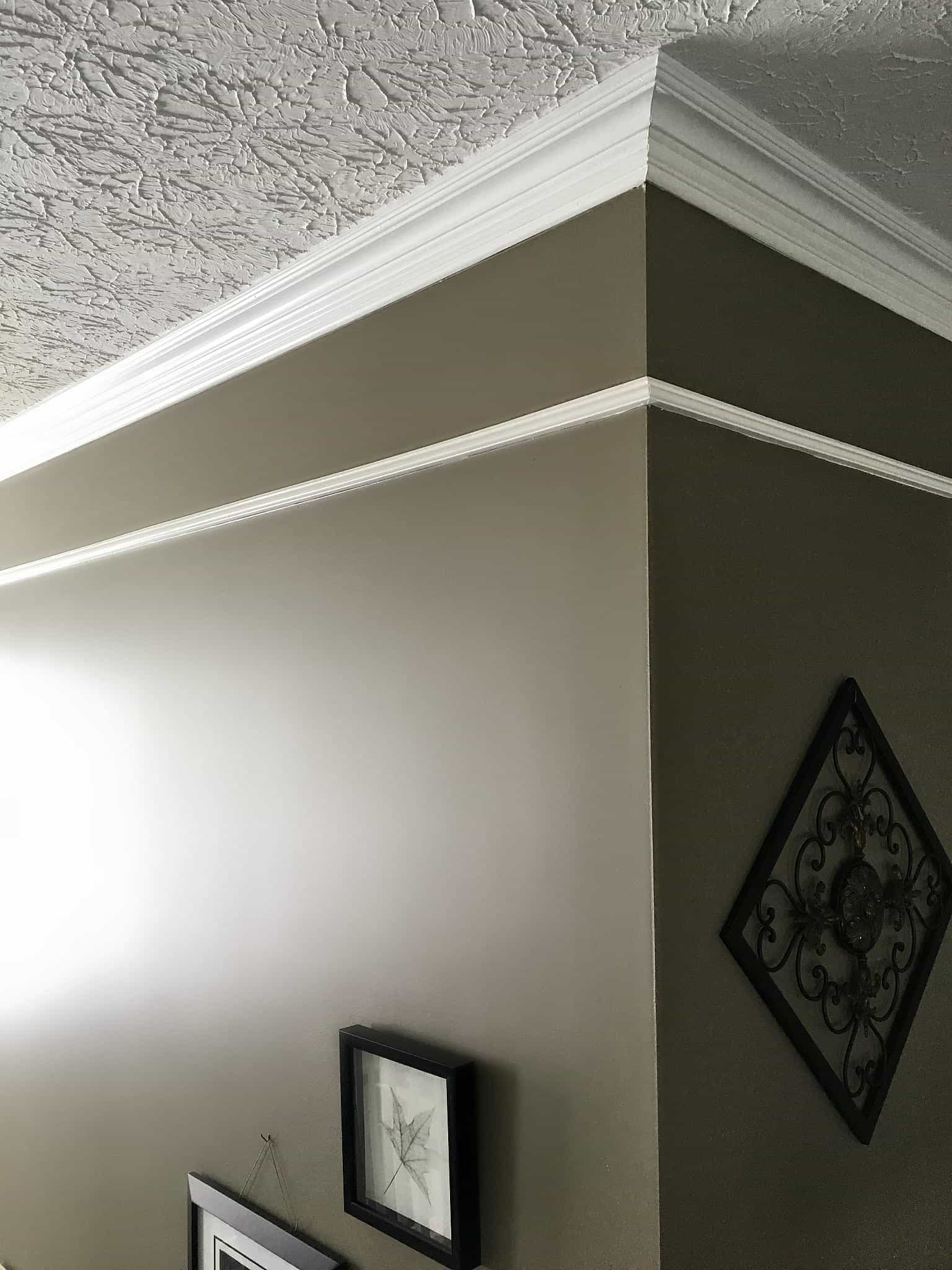 Two Story Foyer Molding : Two story foyer upgrade add faux frieze molding snazzy
