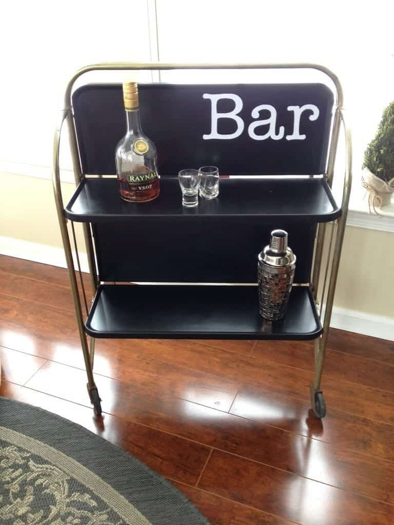 MidCentury Modern Bar Makeover