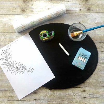 60+ Chalkboard Art & Furniture Transfer Projects