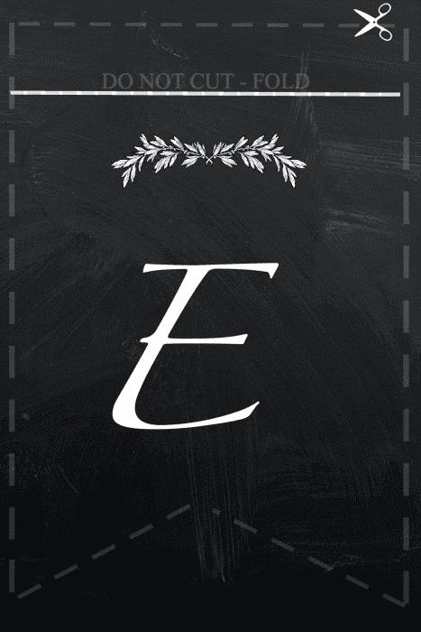 E Free printable Blessings  banner