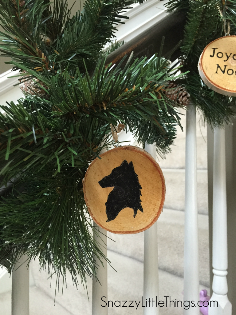 Birch Ornaments DIY by DIO Home Improvements