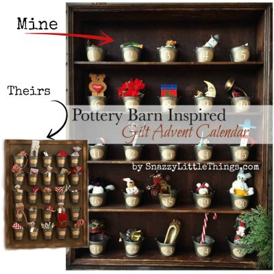 Pottery Barn Advent Calendar