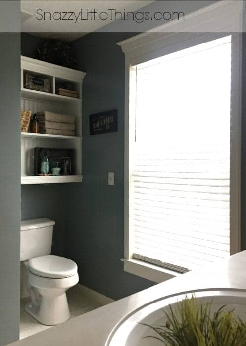 Built In Shelving After
