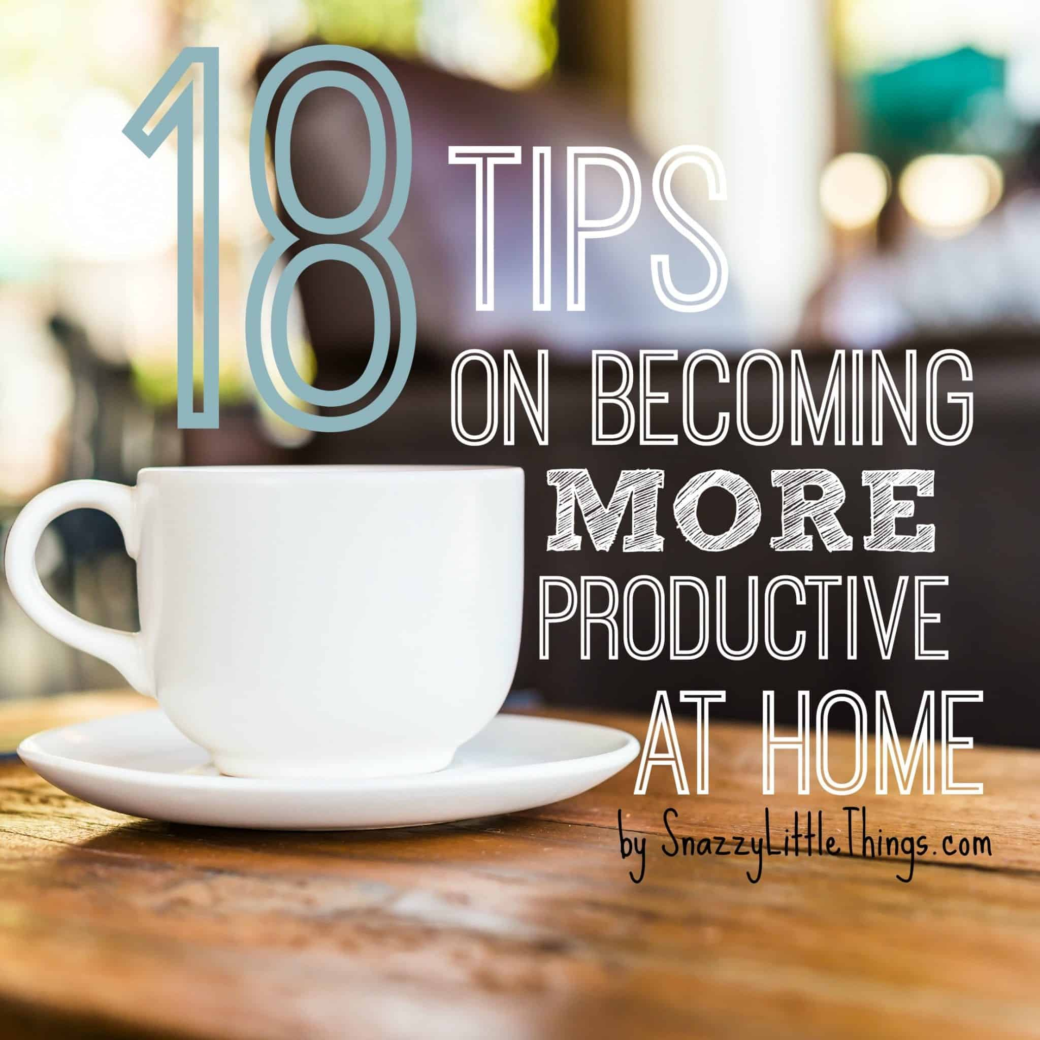 how to improve productivity at work