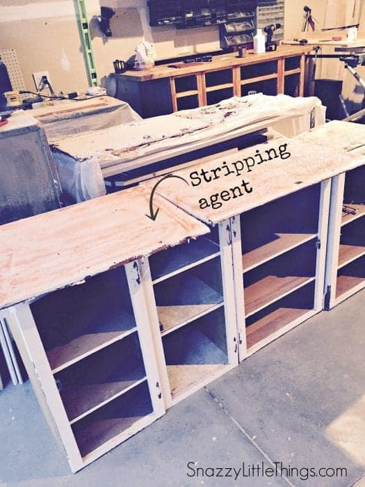 Woodshop before | by SnazzyLittleThings.com