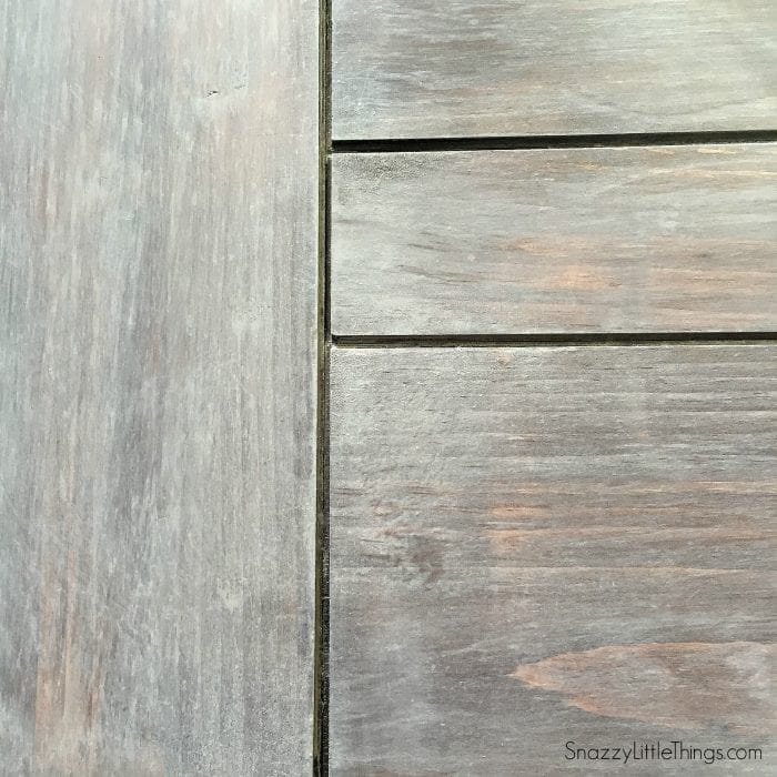 Driftwood Finish by SnazzyLittleThings.com