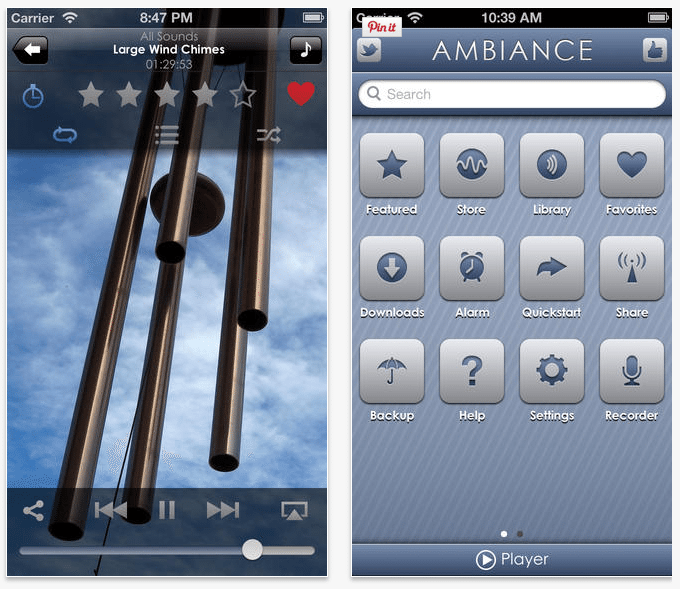 Ambiance Light iTunes Store