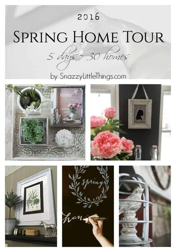 2016 Spring Home Tour by SnazzylittleThings.com