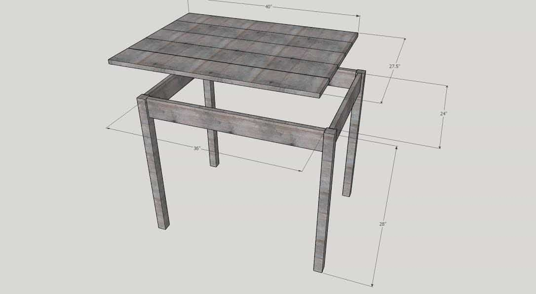 Dog Crate DIY Hack Table Build by SnazzyLittleThings