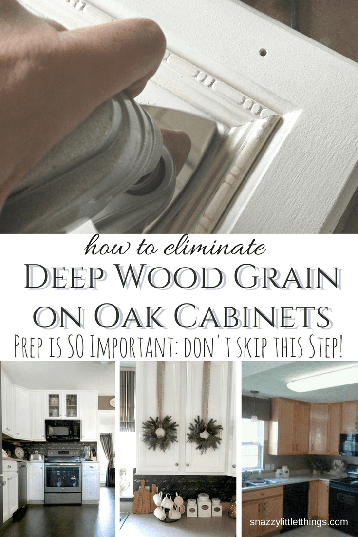 Achieving a Smooth Finish on Oak Cabinets