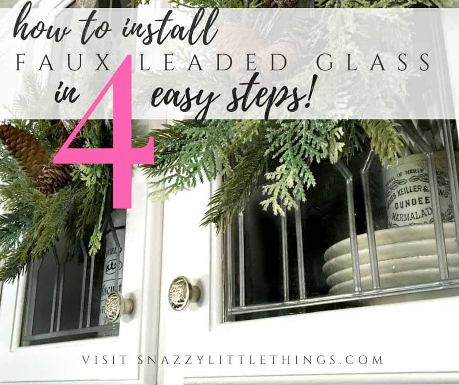install-faux-leaded-glass-in-4-steps