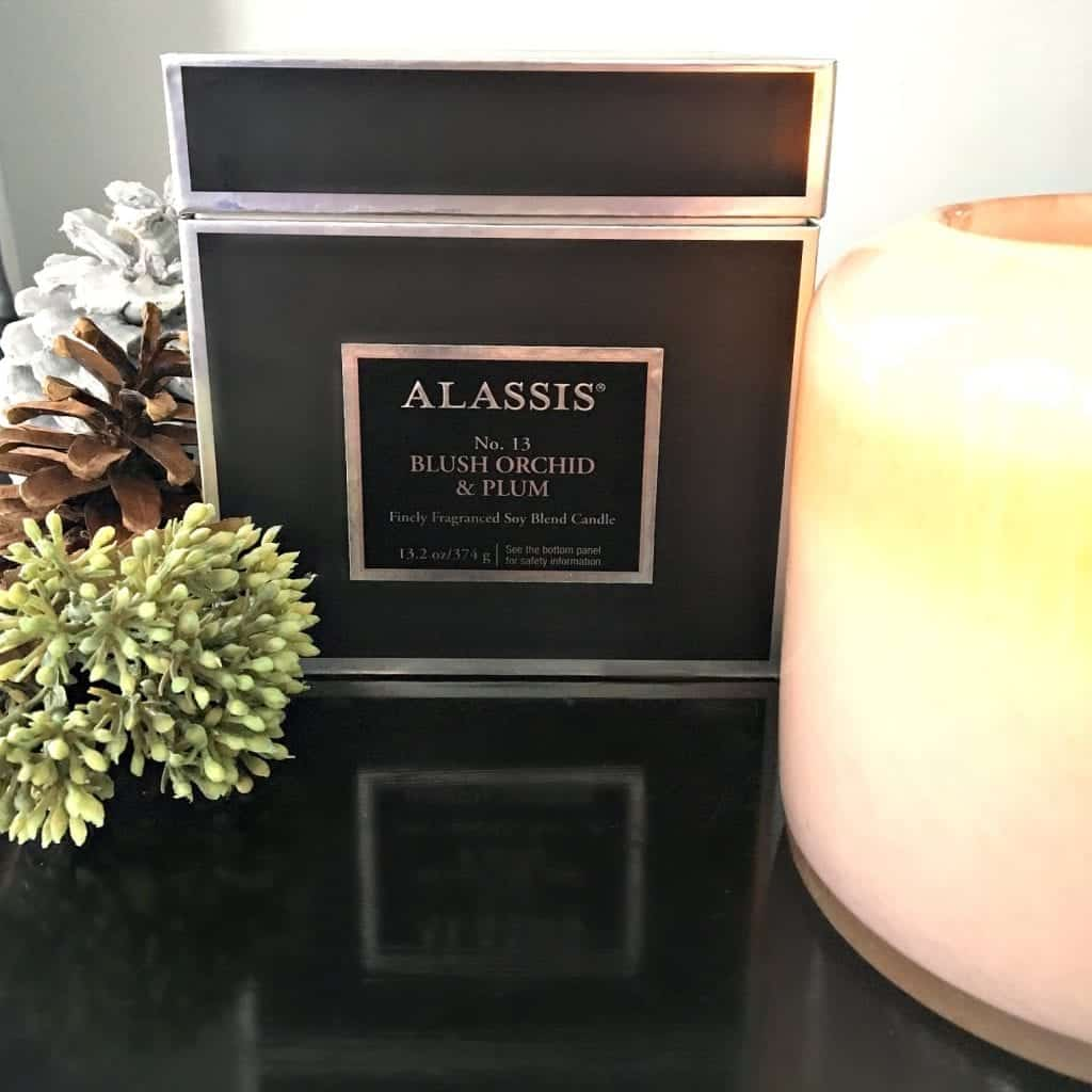 Winter Home Tour 2017 Blush Orchid and Plum Chesepeake Bay Candle