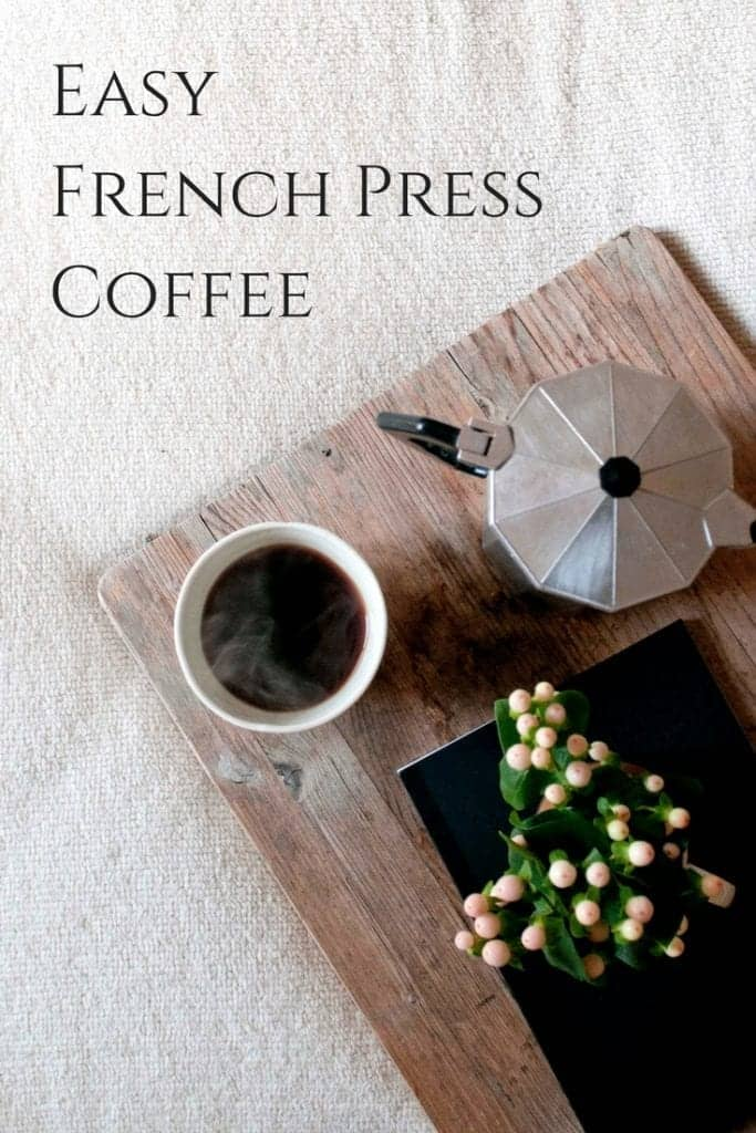 Easy French Press Coffee (Video Tutorial)