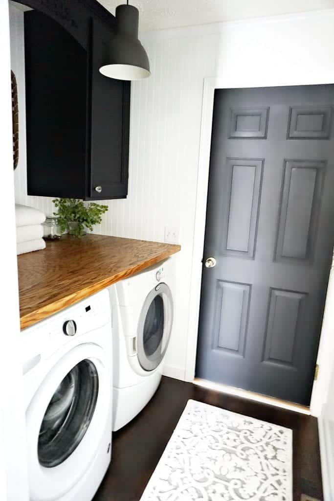 Laundry Room Reveal Snazzy Little Things